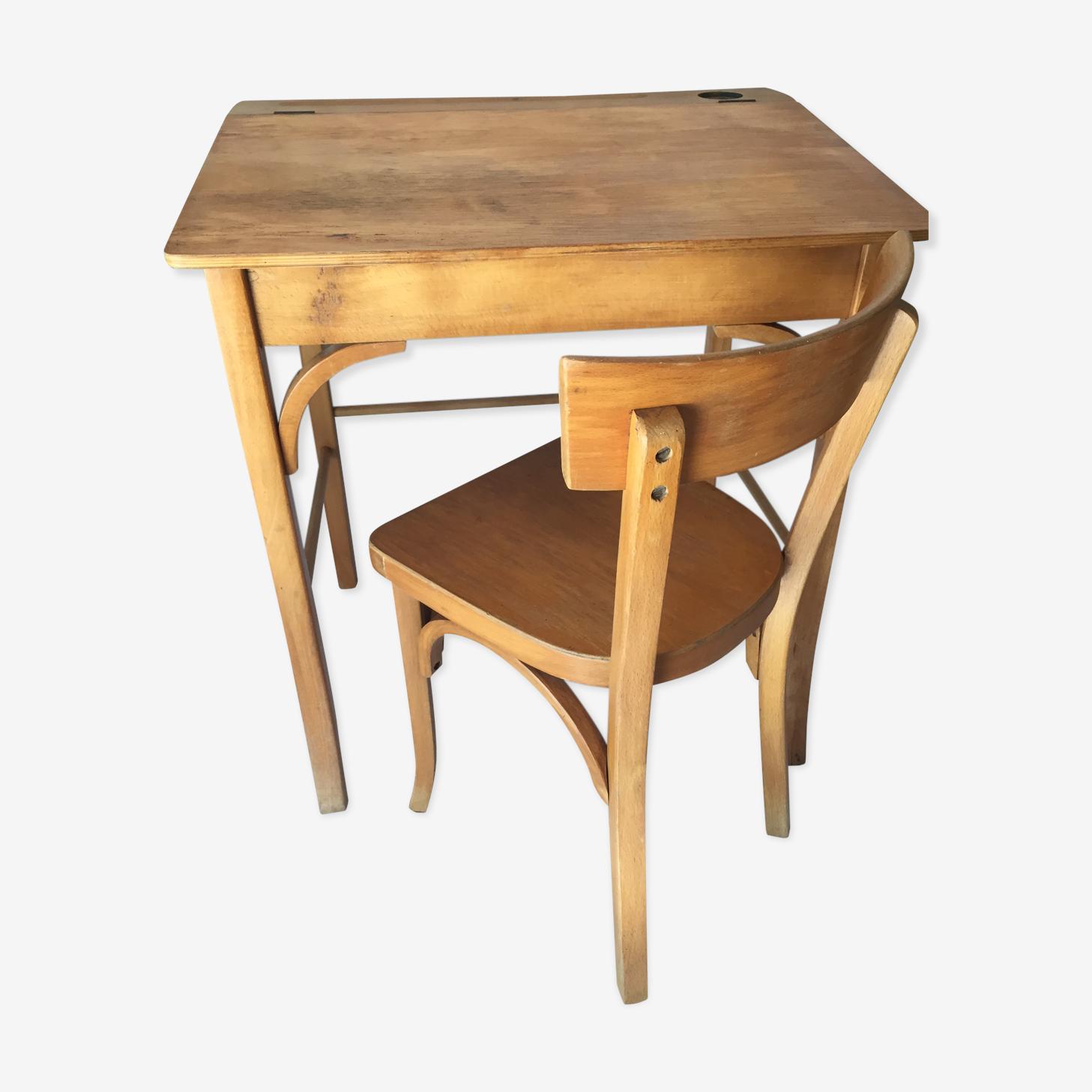 Writing desk and chair baumann