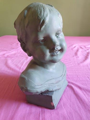 Buste plâtre