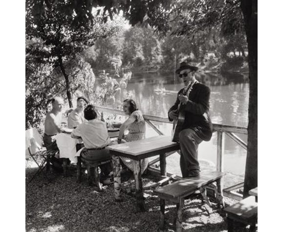 "Photographie N&B, Willy Ronis, ""Joinville le Pont"", ""Nogent sur Marne"", 1947 et 1959"