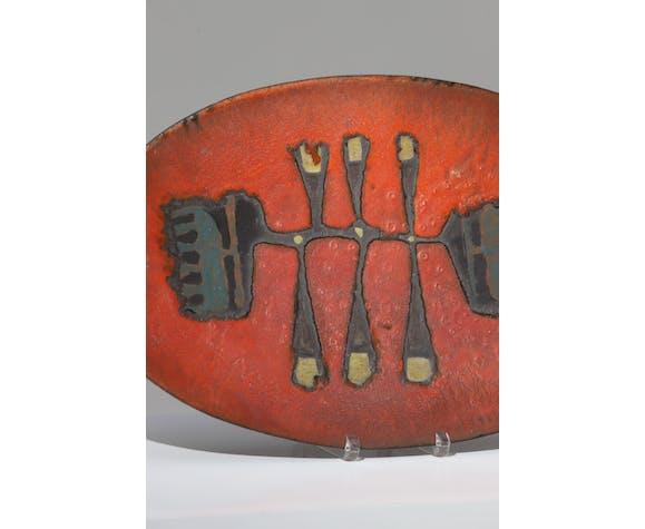 Vide poche Perignem en céramique années 1960