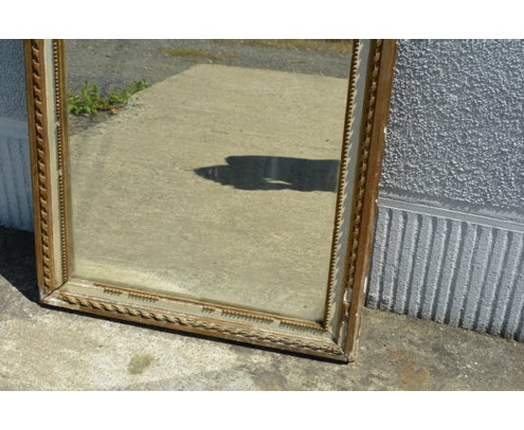 Miroir de cheminée, trumeau 55x82cm
