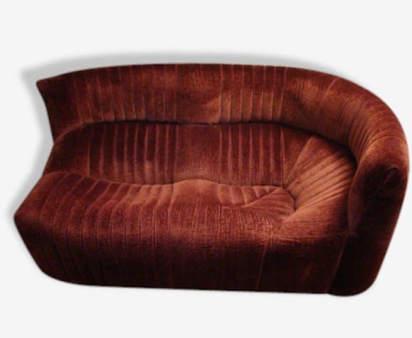 canap aralia ligne roset tissu bordeaux design 114870. Black Bedroom Furniture Sets. Home Design Ideas