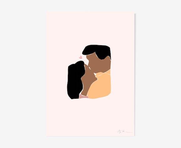 Illustration Amour - La tendresse