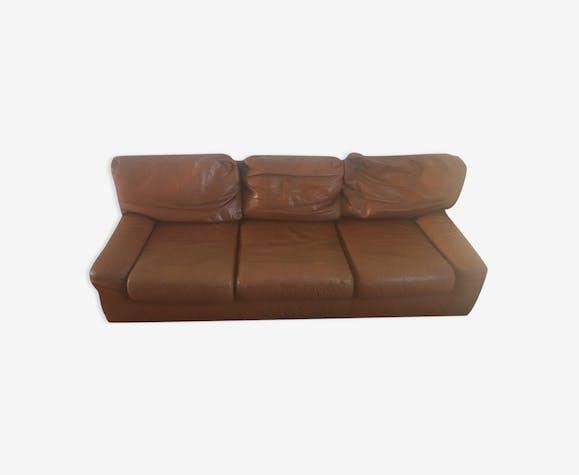Leather Sofa Guermonprez 80