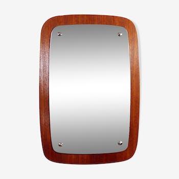 Miroir scandinave des années 50 40x59cm