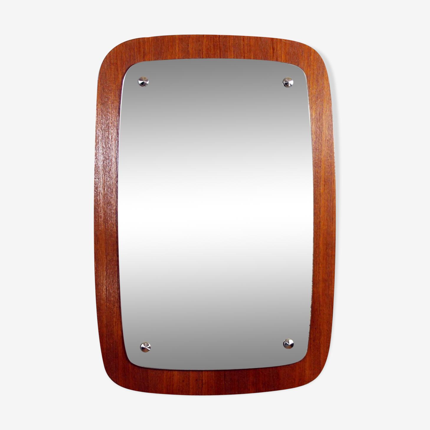 Scandinavian mirror of the 50s 40x59cm