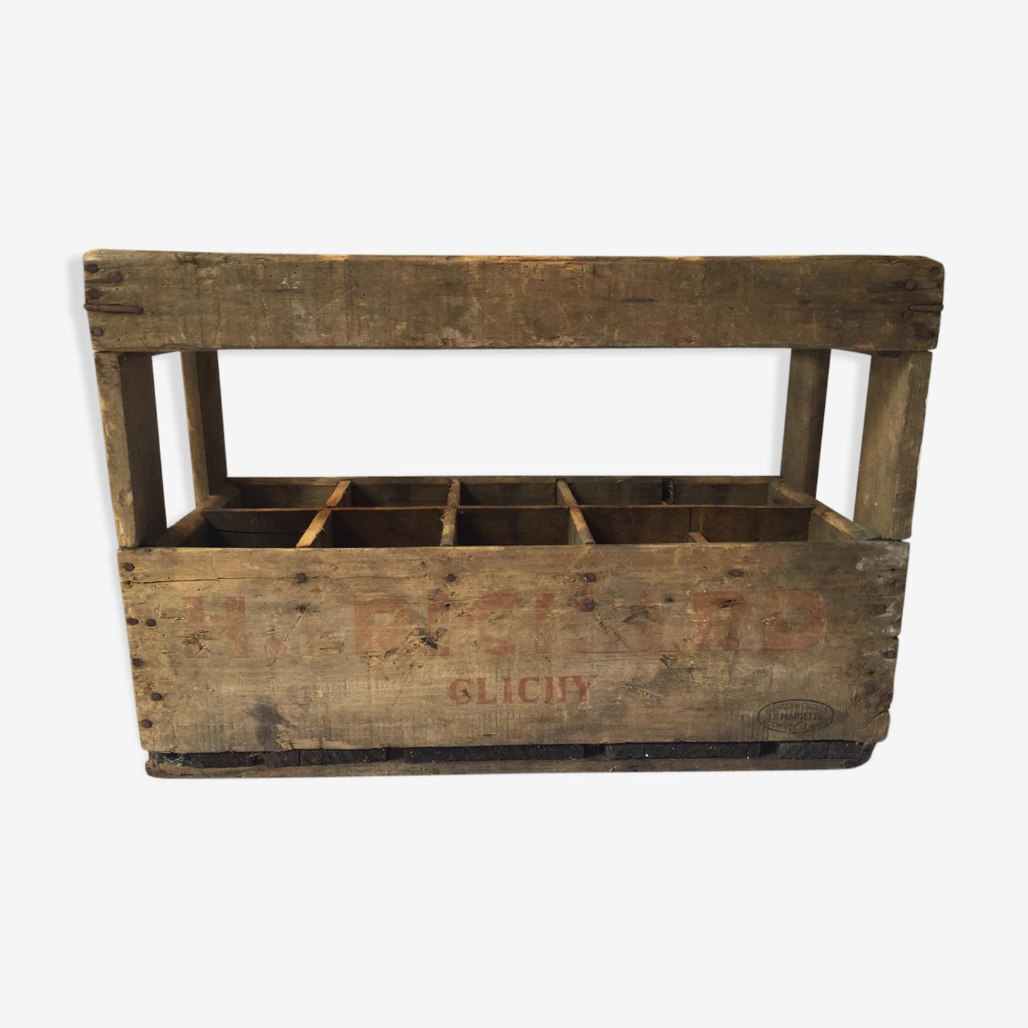 Richard H wooden bottle rack