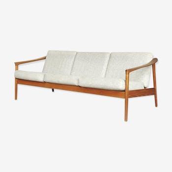 Mid-century modern teak colorado sofa, 1960s