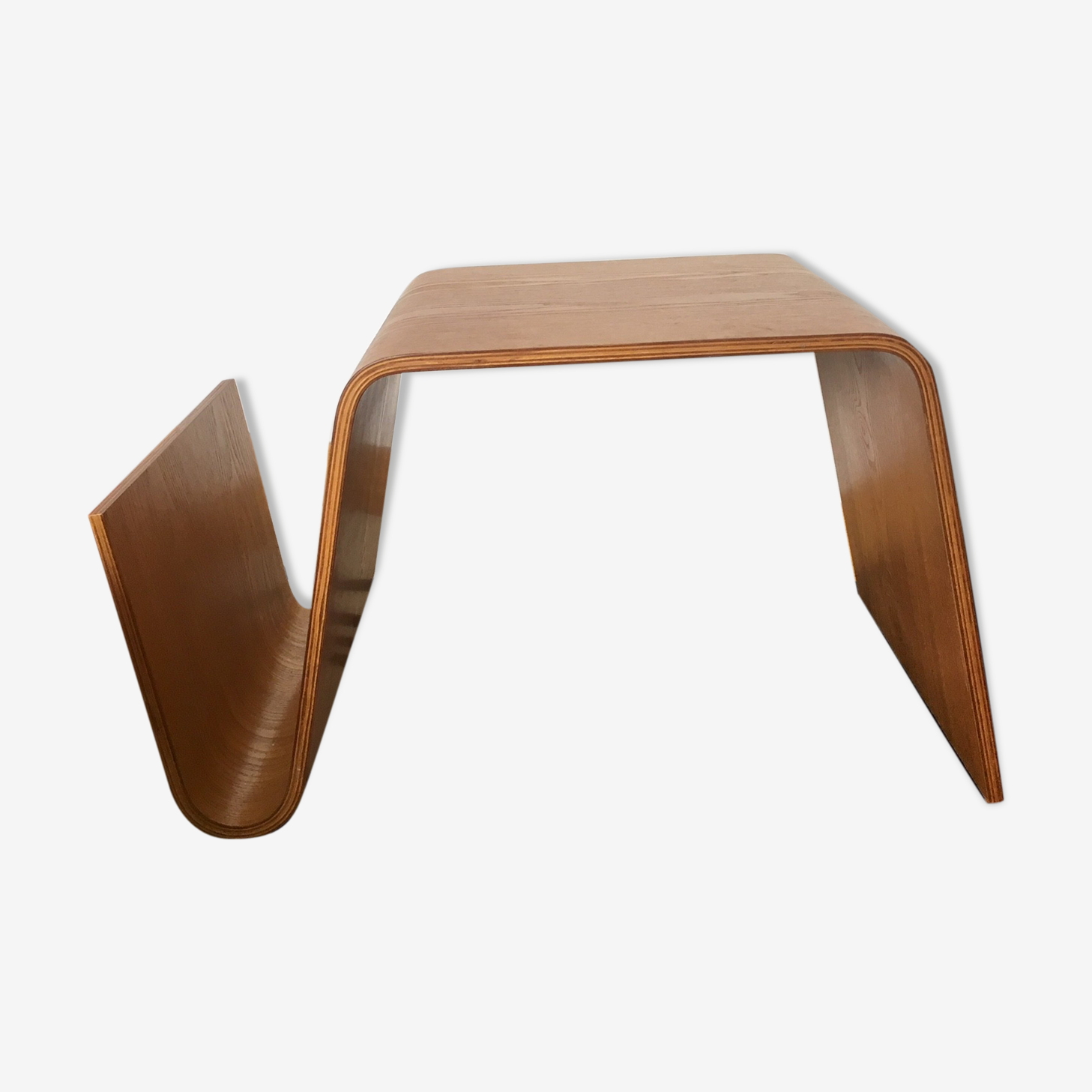 Table plywood range magazine années 70
