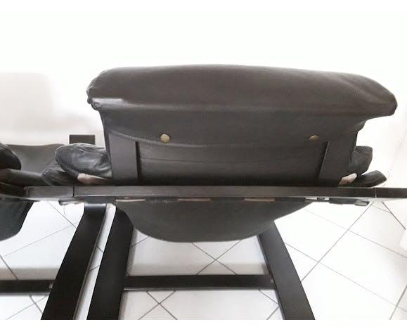 2 fauteuils kroken et 1 ottoman