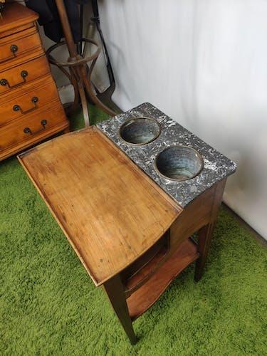 Table d'appoint en merisier