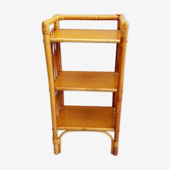 tag re en rotin 3 tiroirs rotin et osier bois. Black Bedroom Furniture Sets. Home Design Ideas