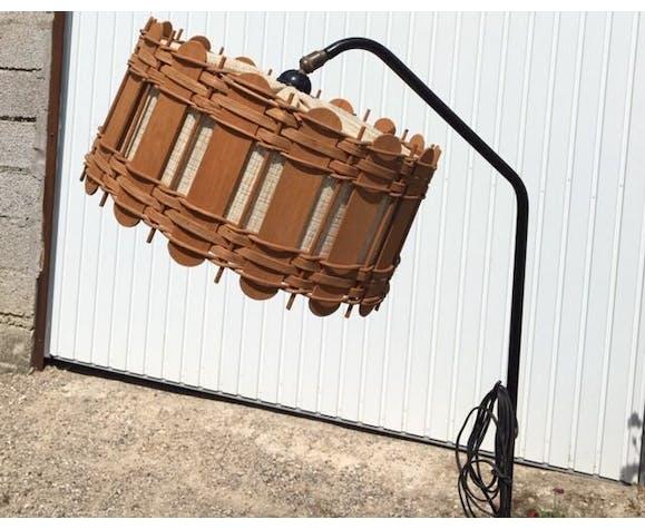 Lampadaire vintage en metal