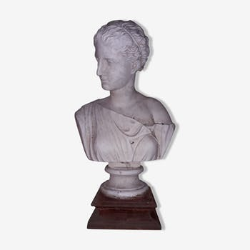 "Bust plaster ""woman in antiquity"""