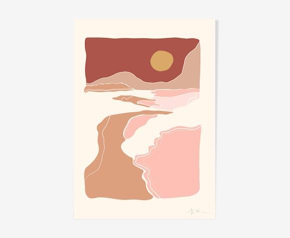 "Illustration ""Paysage n°3"""