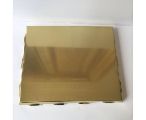 1950 vintage brass tray