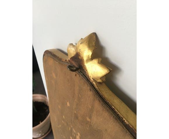 Ancien miroir doré - 119x33cm