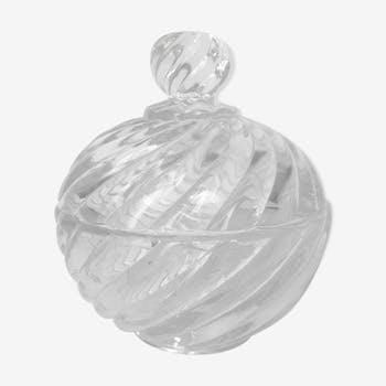 Bonbonnière en cristal de Baccarat