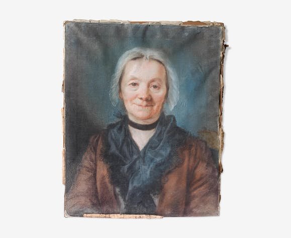 Portrait of lady old 18th