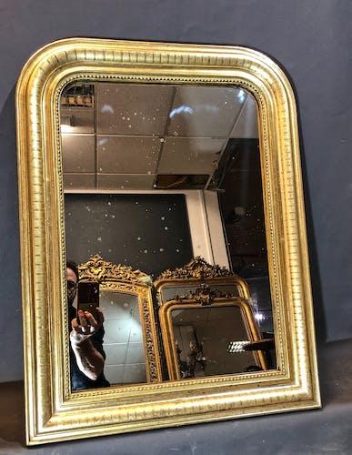 Miroir 75x56 époque Louis Philipppe