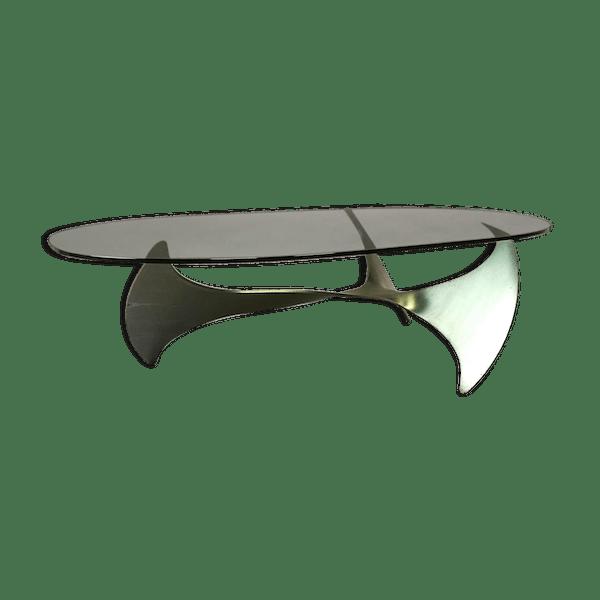 Legeard 70 Table N1l240u Fer Son Années Paul Gris Jus Basse Dans Design OmnvN80w