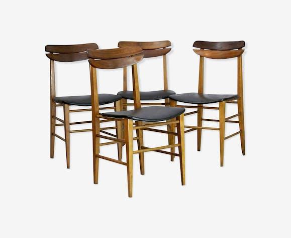 Chaises de salle à manger scandinave, des années 1960