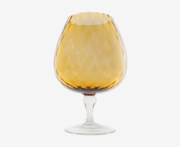 Glass vase Italian