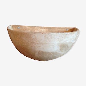 Porte-plantes en poterie