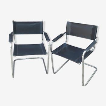 Paire de fauteuils Matteo Grassi