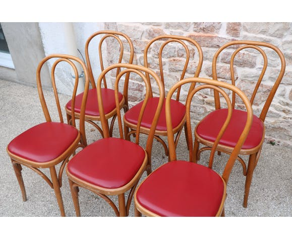 Suite de 6 chaises bistrot