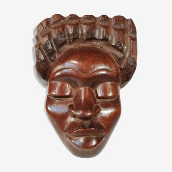 Vintage Malagasy Mask 1970