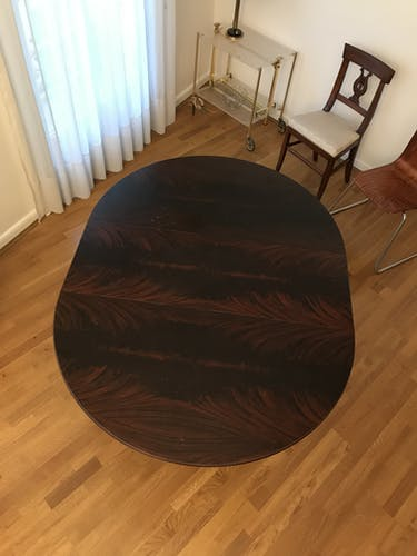 Victorian Style mahogany extension table