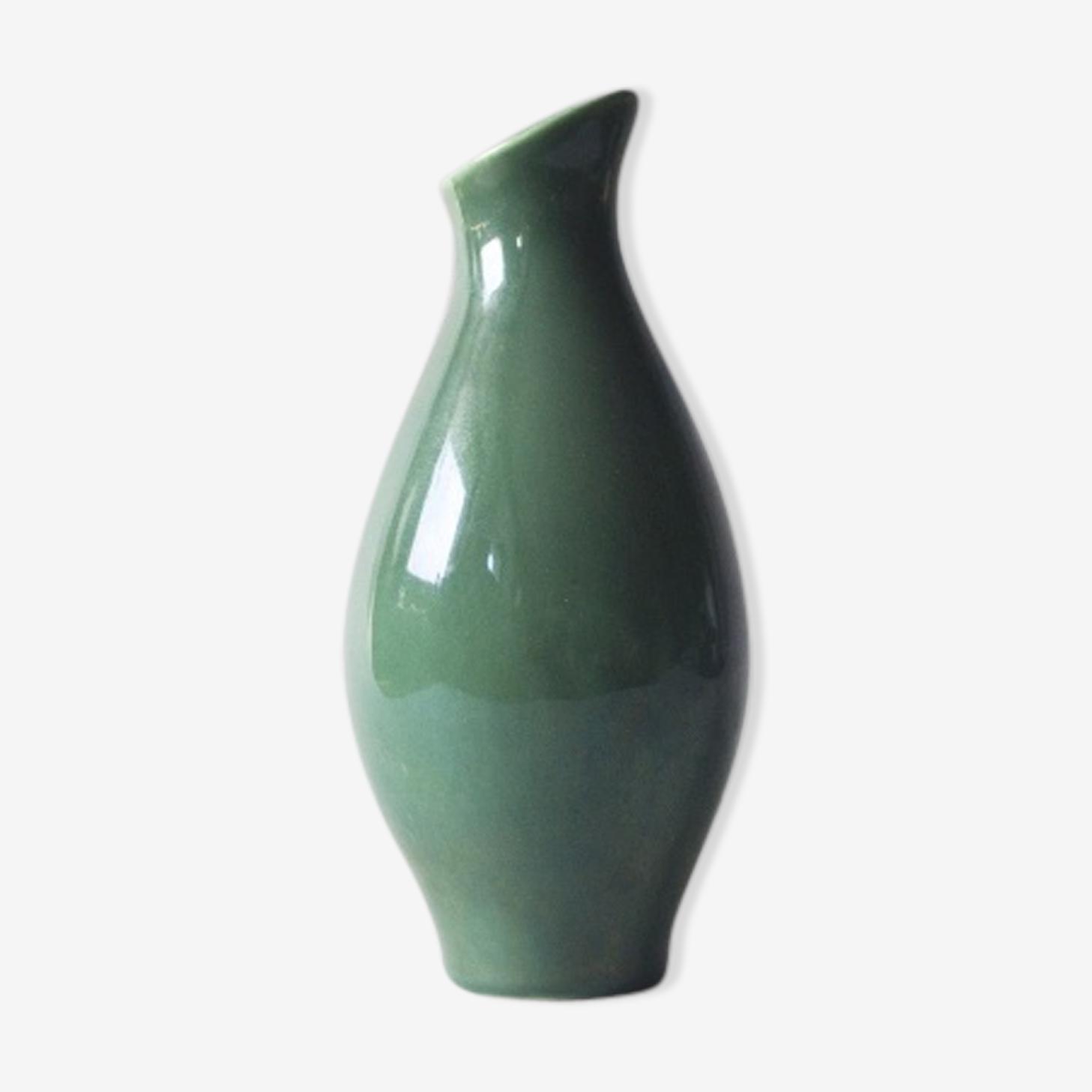 Vase vert années 80 Villeroy & Boch