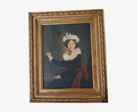 Portrait de madame Vigier Lebrun