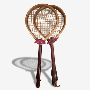Old toy: tennis rackets