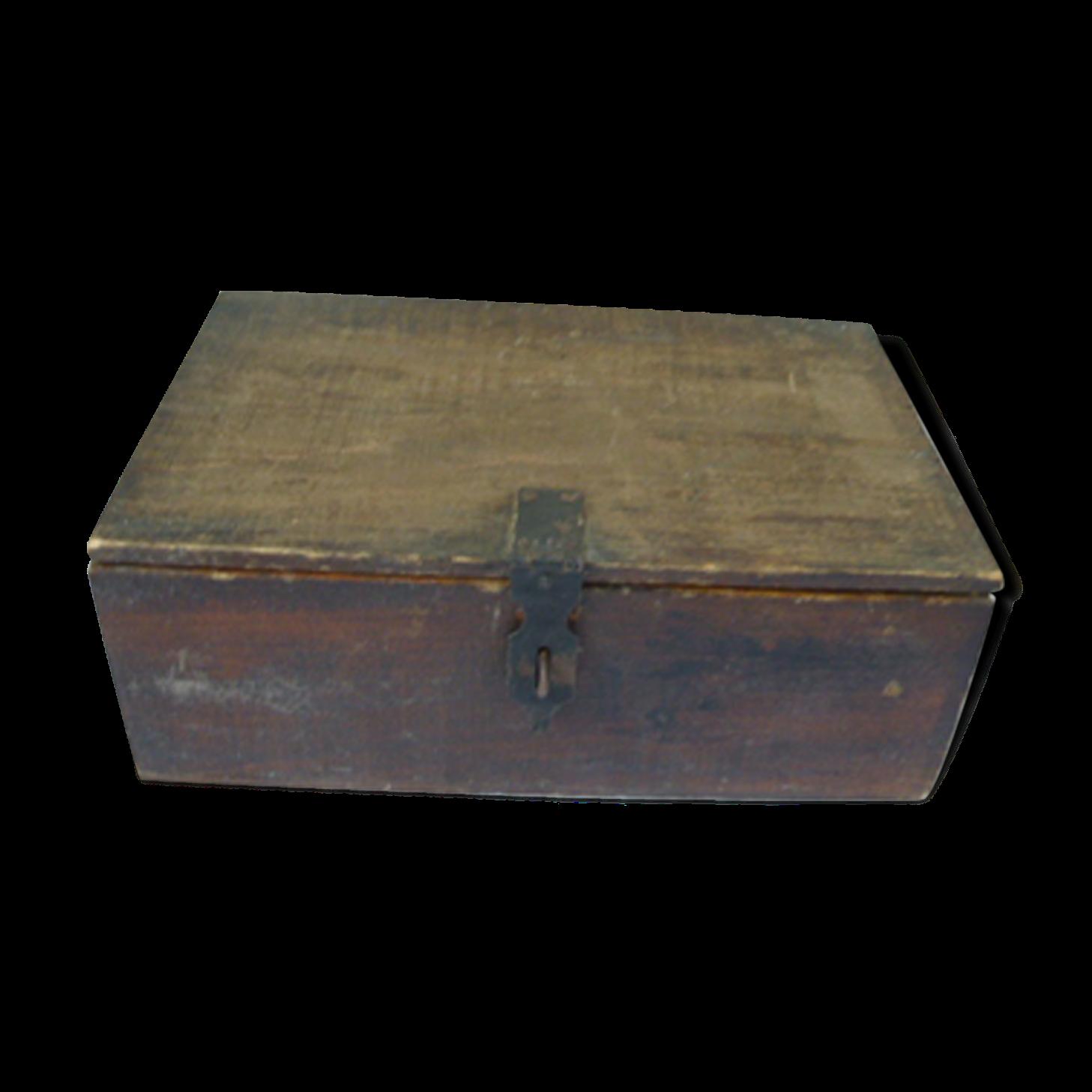 caisse en bois avec couvercle affordable ides pour. Black Bedroom Furniture Sets. Home Design Ideas