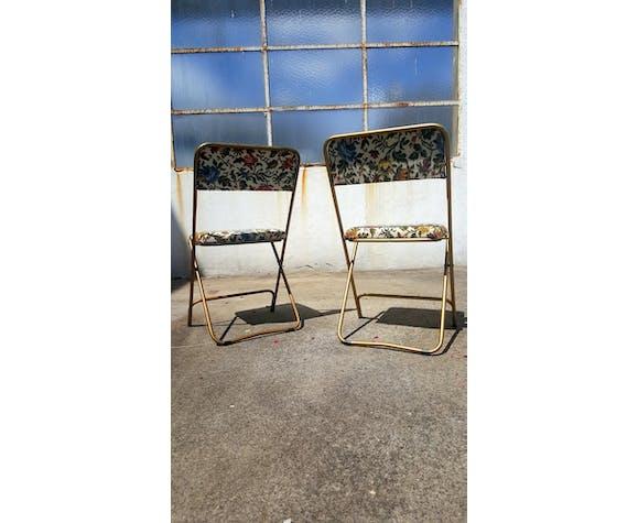 Paire de chaises vintage Lafuma