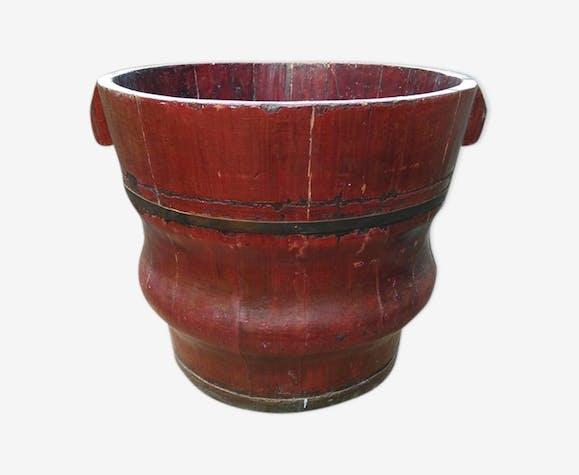 Cache pot chinois en bois XIXème