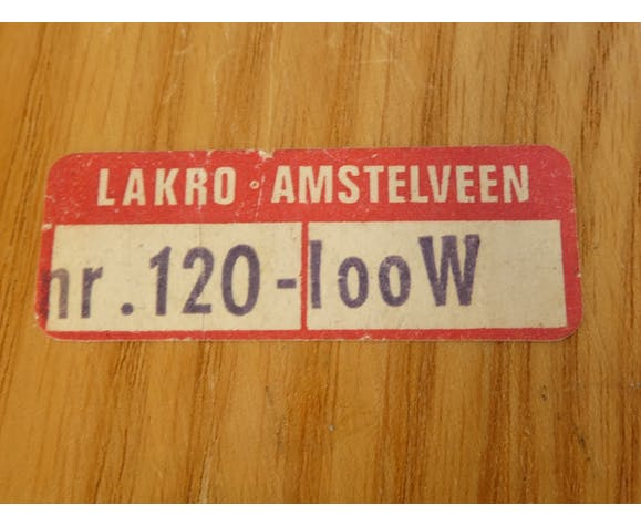 Lampe murale articulé vintage de Lakro Amstelveen 1960