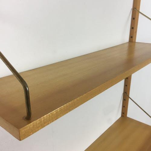 Original Danish shelves designed by Poul Cadovius