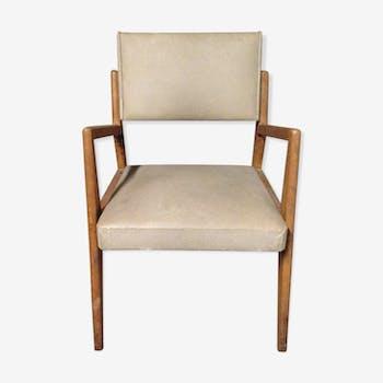 fauteuil de coiffeur des ann es 70 ska beige vintage dxdqfjw. Black Bedroom Furniture Sets. Home Design Ideas