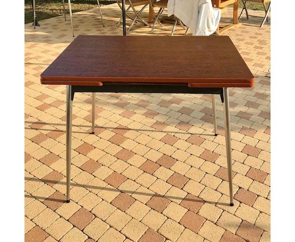 Table en formica à rallonges années 70s