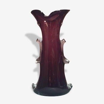 Ruby design vase
