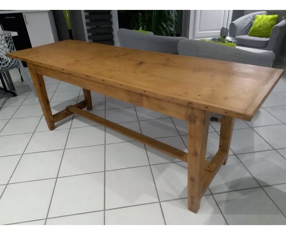Ancienne table de ferme année 1920
