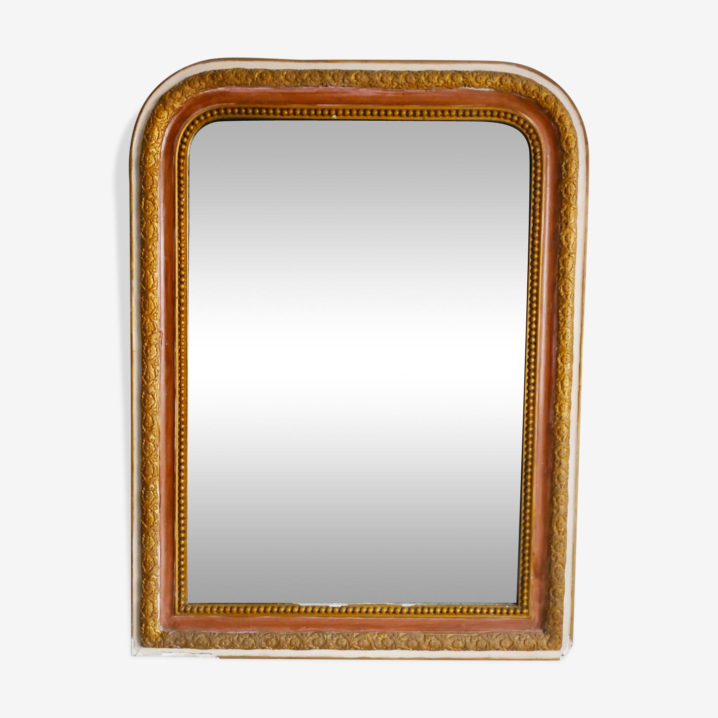 Miroir ancien Louis Philippe 55x72cm