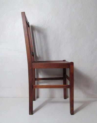 Chaise cannée bistrot vintage format adulte Luterma