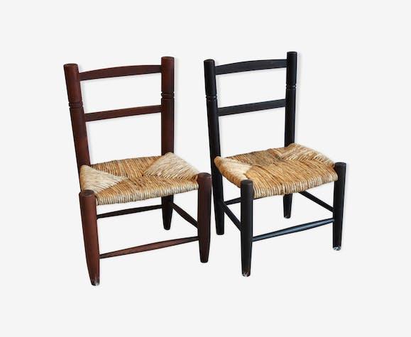 Duo de chaises enfants 70's