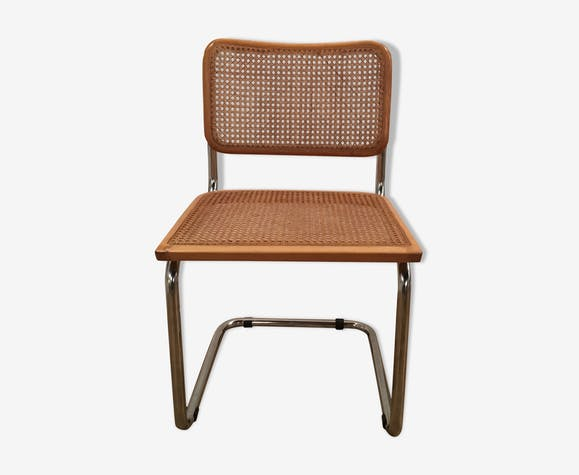 Chaise Cannee Marcel Breuer Cesca B32 Made In Italy