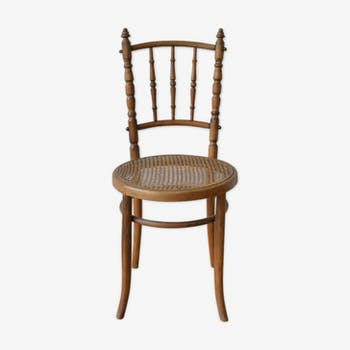 Bistro Chair with new caning