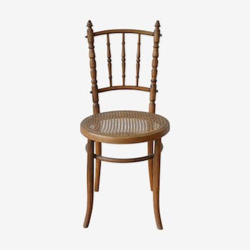 Chaise Bistrot avec cannage neuf